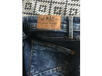 River island jeans size 8