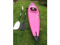 Pyranha Master Kayak with Paddles