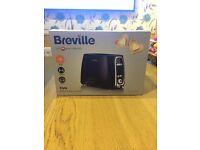 Breville 2 slice black toaster