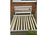 FREE small double bed.