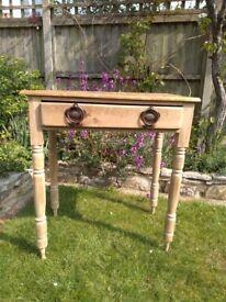 Small antique desk table