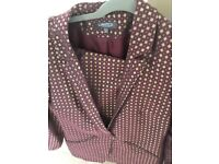 Marks limited ladies suit jacket 12, trousers 10