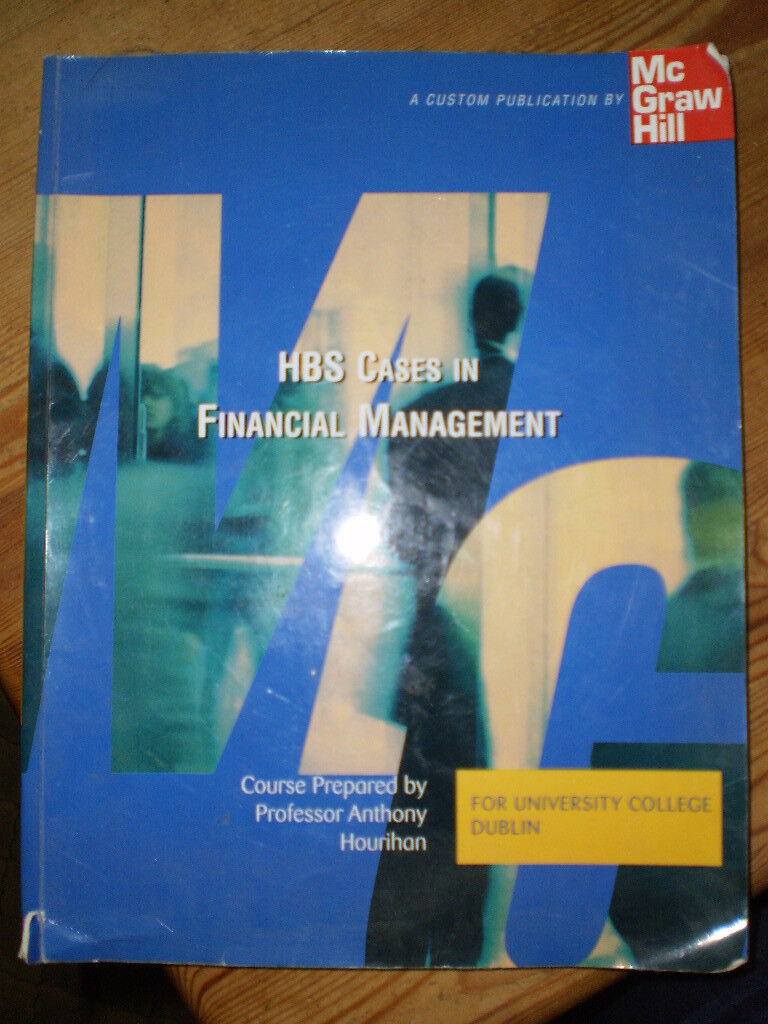 HBS Cases in Financial Management. For UCD B Comm Financial Management course.