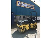 2004 BOMAG BW120 120 TANDEM ROLLER WITH GENUINE LOW HOURS