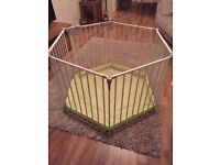 Hauck baby/toddler park playpen. Barely used, great condition. Bargain £25! (RRP £85)