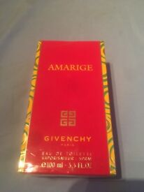 Unopened Givency perfume