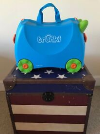 Stylish Trunki Kids Lightweight Ride On Travel Case