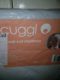 Cuggl travel cot matress