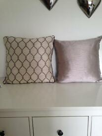 4 lovely cushions