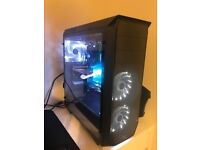 GAMING PC Full Kit Intel i5 Nvidia GTX 460 12GB RAM 2TB HDD Dual Screen Wireless mouse and Keyboard
