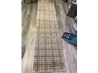 Tartan carpet hall runner only £20
