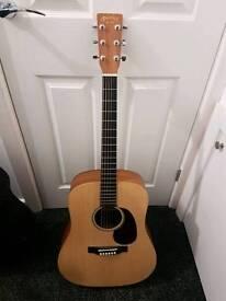 Martin & Co dx1kae electric acoustic guitar. W/ Hard Case