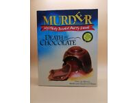 Murder Mystery Board Game: Death by Chocolate Dinner party