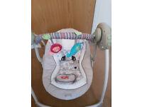 Ingenuity Cozy Kingdom Baby Swing 60194