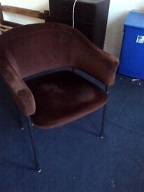 classic 1970 upholstered chair
