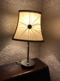 Small cream lamp