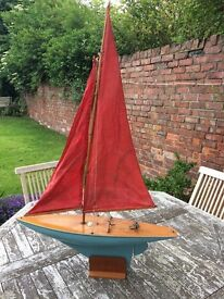 "1950's ""Albatross"" model sailing yacht"