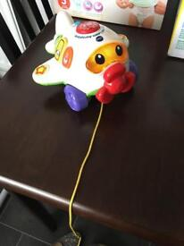 Vtech play and pull aeroplane