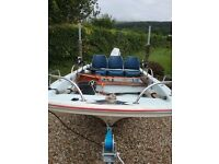 Dory 13ft GRP Day Boat.