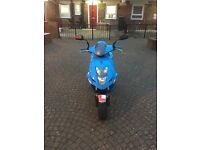 White knuckle 50 cc moped scooter low mileage full mot