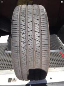 245 45 20 continental 8MM TREAD free mobile fitting next day post available