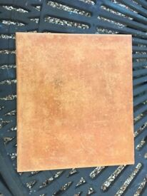 Italian porcelain terracotta effect 30x30cm, frost proof floor tiles