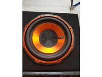 Two bass box for sale both woth amps