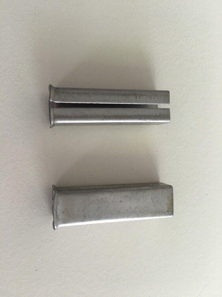 AHB Wechselstift 1071 mit Platte 8//90mm Vierkantstift Vierkant Stift Spaltstift