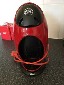 Red dolce gusto machine