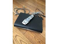 Sky HD box with remote and HDMI lead