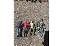 Spider man action figures