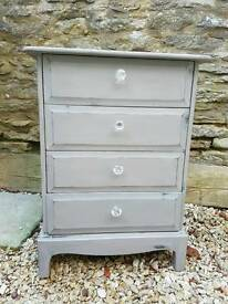 Stag Chest Of Drawers/ Bedside