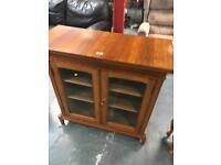 CHINA CABINET GLASS DOORS SHABBY CHIC PROJECT ** FREE DELIVERY IS AVAILABLE TONIGHT **
