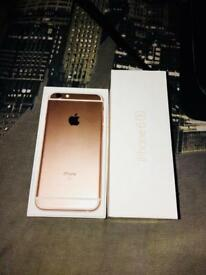IPHONE 6s ROSE GOLD BRAND NEW NEVER BEEN USED