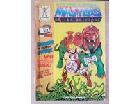 MASTERS OF THE UNIVERSE He-Man Comic No 1 - FIRST issue - 1986 - Mattel RARE