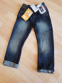 NEXT Boys Jeans. Age 4. Brand new.