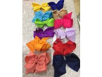 Collection of girls' bows