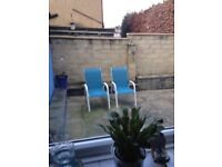 2 Garden Chairs for sale buyer to collect