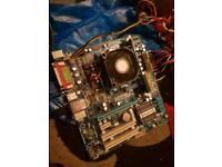Gaming pc modherboard cpu ii x4 640 fully working order