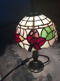 Tiffany style table lamp £55