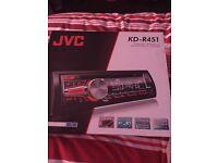 JVC KD-R451 CD player for car