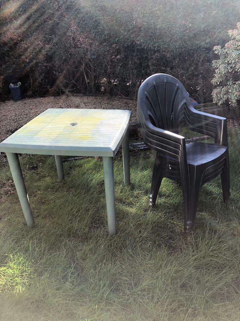 Garden table 4 x chairs | in Sketty, Swansea | Gumtree
