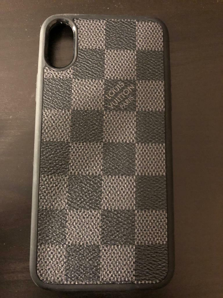premium selection 88d55 8abfe Louis Vuitton Iphone X Cover | in Redbridge, London | Gumtree