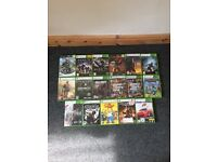 Xbox 360 Slim Black 250G + 17 Games + 3 Controlers