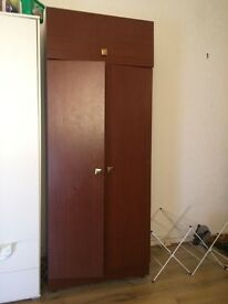moving. free double bed and wardrobe !