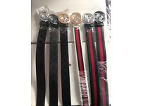 New leather belt