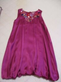 John Lewis Party Dress and Bolero Cardigan - (age 9)