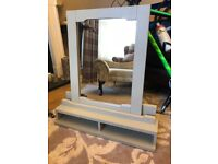 Grey Mirror with stand