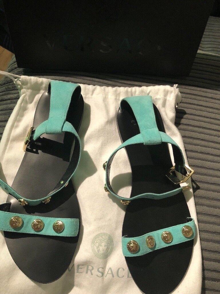 4aa901271b82 Versace Medusa Sandals