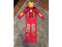 Boys iron man dressing up outfit age 5-7